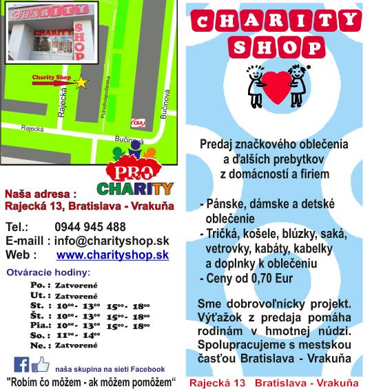 PRO Charity shop