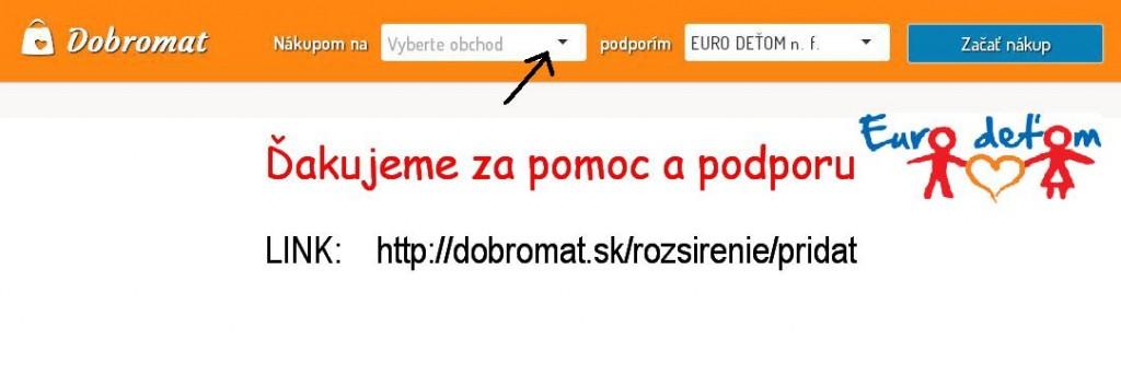 DOBROMAT pre EURO DEŤOM n.f.