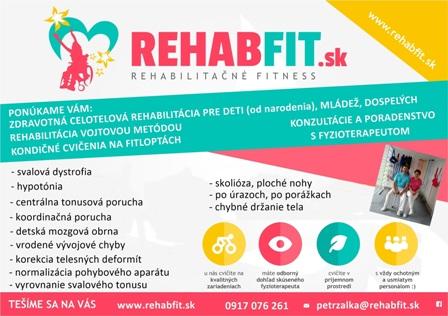 rehabfit leták