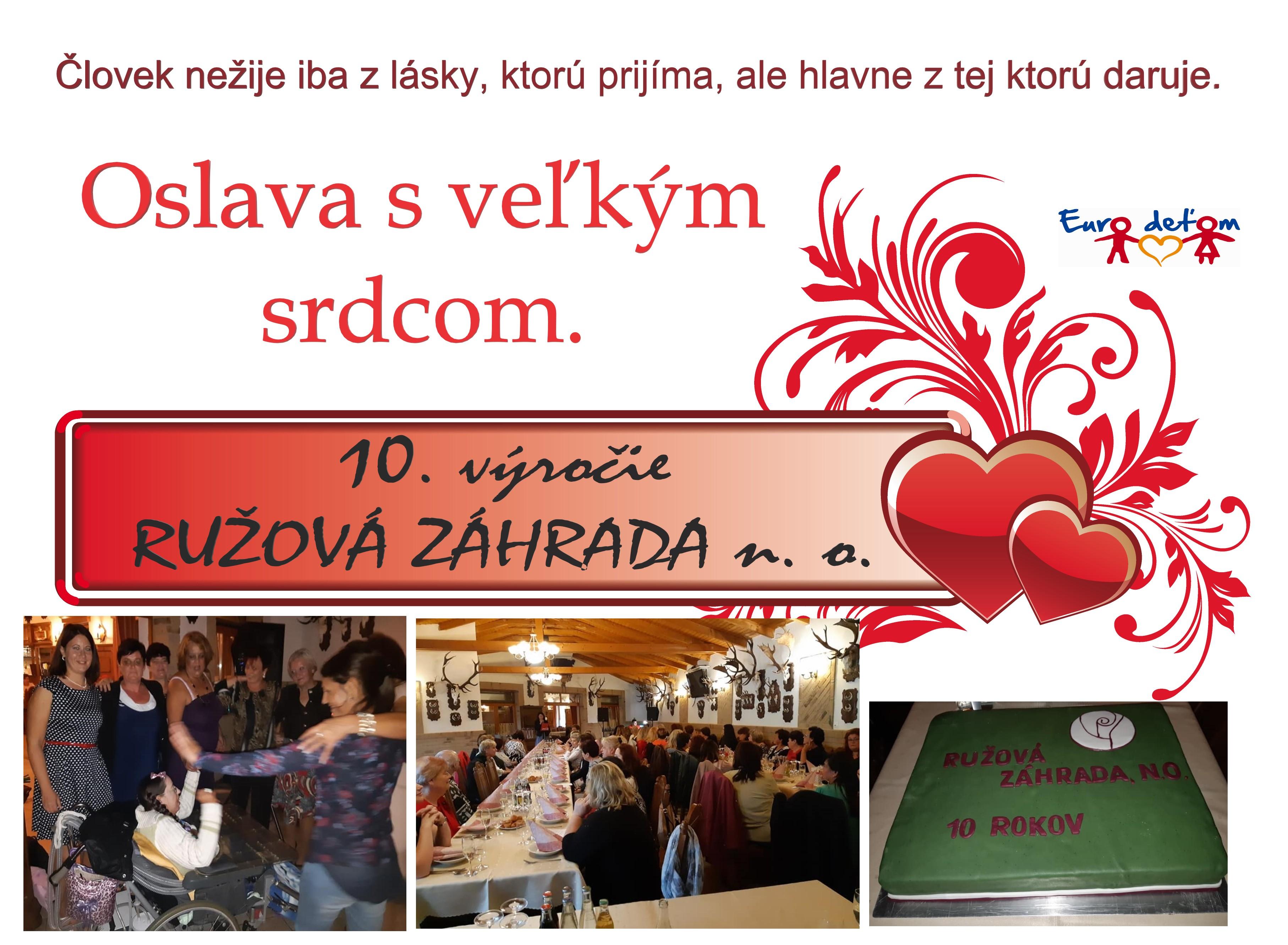 RUŽOVÁ ZÁHRADA n.o.  pre SKARLETKU